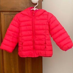 BabyGap Girls 3T Bright Pink Jacket w/Primaloft